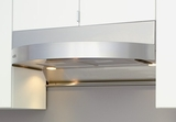 """ZTA-E30AS Zephyr Tamburo 30"""" Under Cabinet Hood with 400CFM Blower - Stainless Steel"""