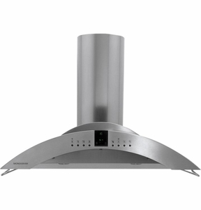 "ZV750SPSS Monogram 36"" Wall-Mounted Vent Hood - Stainless Steel"