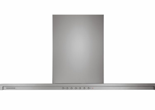 "ZV800SJSS Monogram 36"" Slide-Out Retractable Canopy Wall Mount Hood  - Stainless Steel"