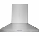"ZV830SMSS Monogram 30"" Wall-Mounted Vent Hood - Stainless Steel"