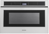 ZWL1126SJSS Monogram 1.2 Cu. Ft. Microwave Drawer with Glass Touch Controls - Stainless Steel