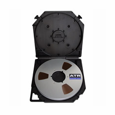 "ATR 40907TCB 1/4"" x 2500 FT Open Reel Tape on 10.5"" Metal Reel"