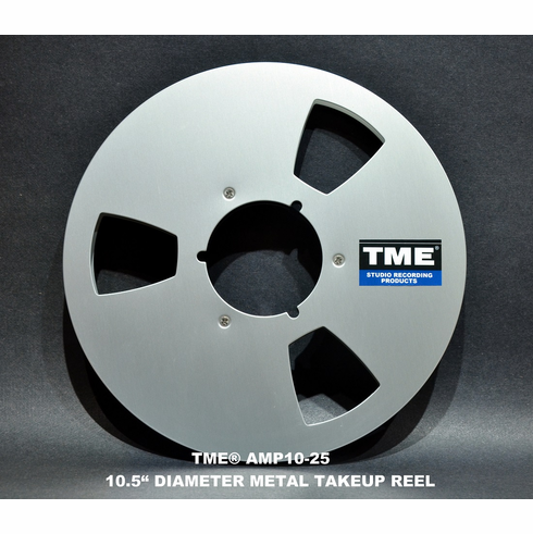 "ATR-AMPEX Style 1/4"" x 10.5"" Metal Takeup Reel in Setup Box"