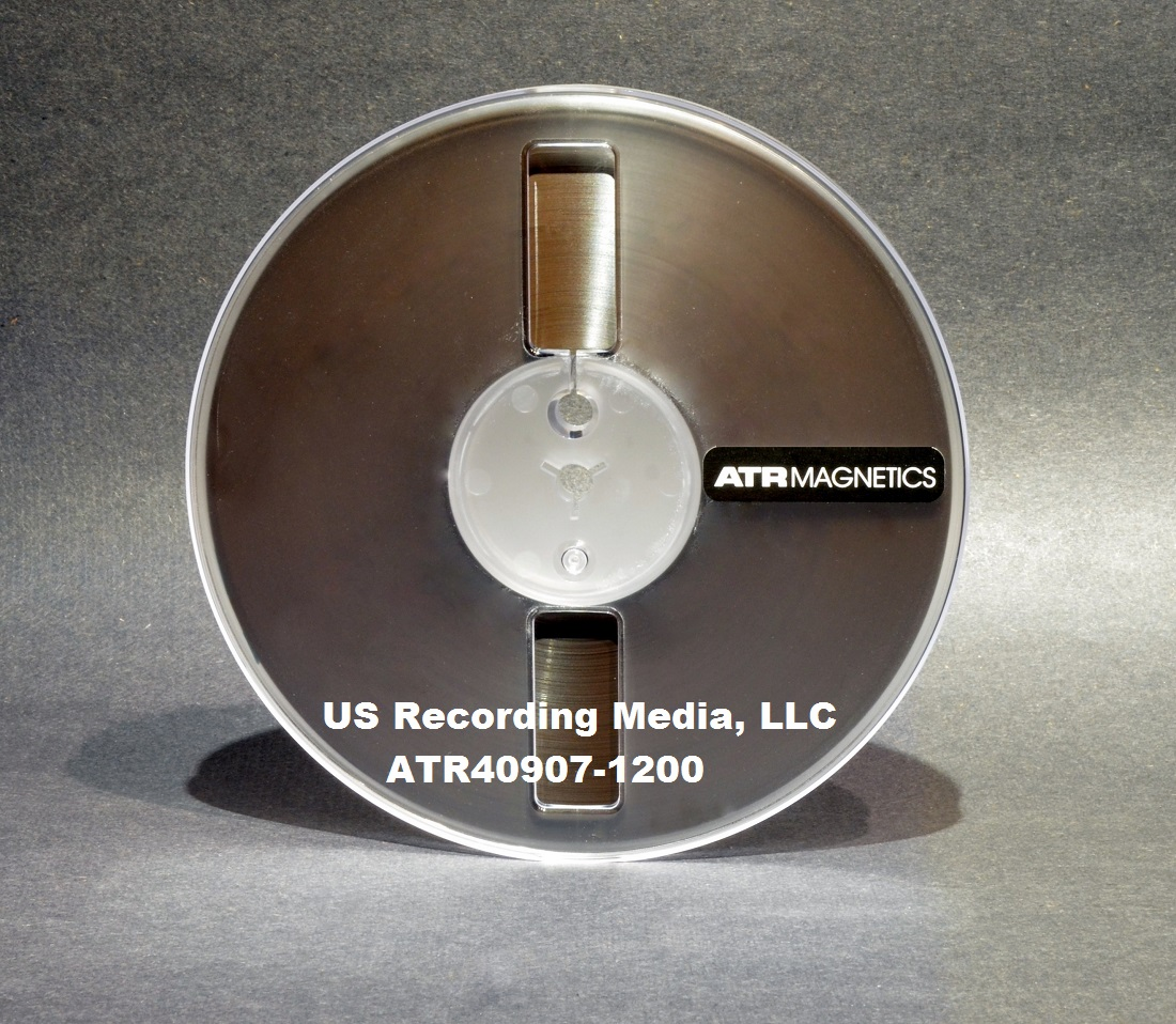 "ATR Magnetics Master Tape Open Reel Recording Tape 1/4"" X 1200 Ft on 7"" Reel"