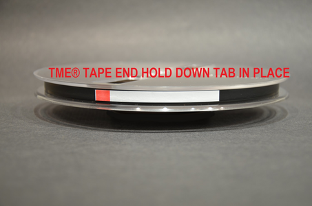 Hold Down Tape and Tabs Open Reel