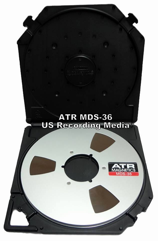 "ATR MDS36  1 Mil 1/4"" x 3600 Ft on Metal Reel in Tapecare™ Box"