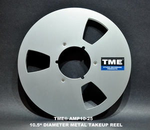 Open Reel Tape Take Up Reels and Hardware
