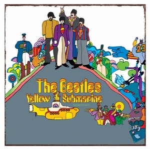 Beatles Yellow Submarine Metal Wall Tin (Sign)