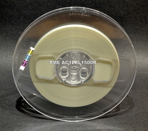 """TME™ Clear Precision Leader Tape 1/4"""" X 1500 Ft on Reel"""