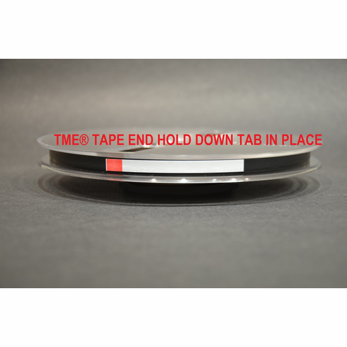 TME Open Reel Tape End Hold Down Tabs 128 Pack