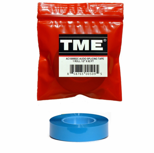 "TME Pro Archive/Studio Splicing Tape 1/2""X 82 FT  UPC# 858765005095"