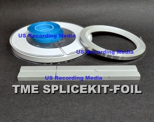 Splicing Kit with Sensing Foil, White Leader. Splicing Block, and Splicing Tape by TME™