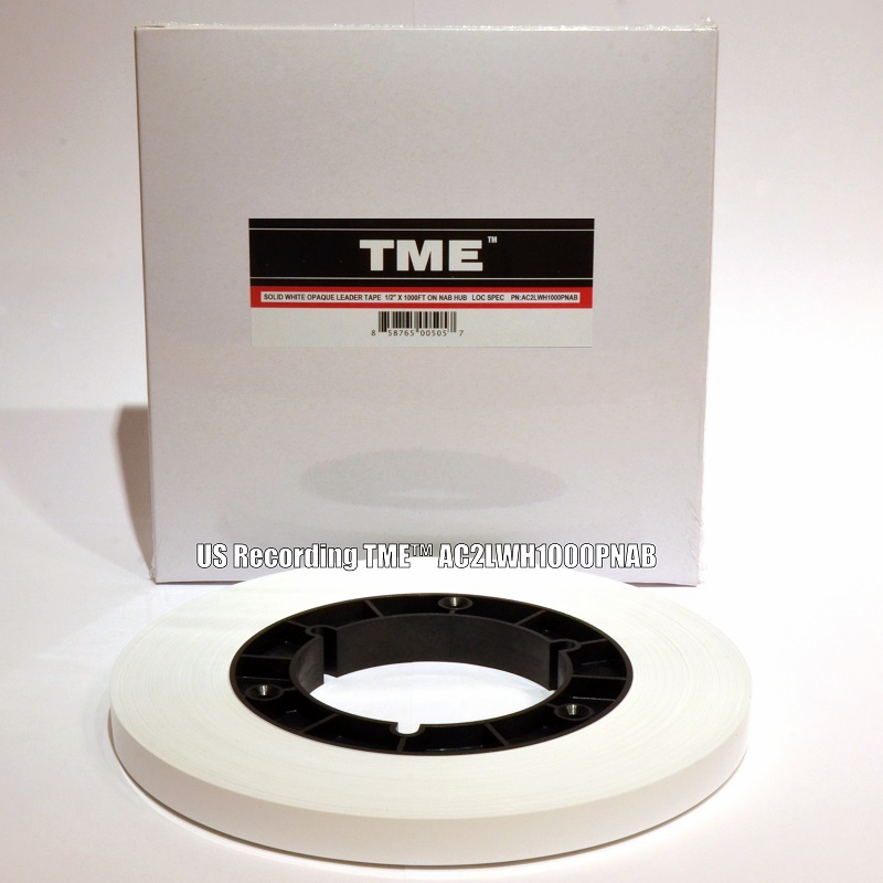 "TME Studio Grade Precision Leader 1/2"" X 1000' on NAB Hub UPC# 858765005057"