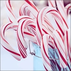 Candy Cane Snow Cone Treats