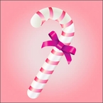 Sweets for Santa: Candy Cane Cotton Candy