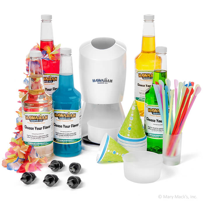 ultimate shaved ice package with electric shaved ice machine - Ice Machines For Sale
