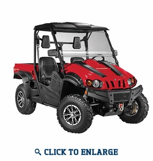 Cub Cadet Challenger 700 - Red / Blue / Yellow