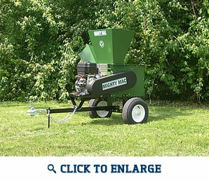 MacKissic Mighty Mac SC1650HTE Hammermill Chipper/Shredder - Highway Towable