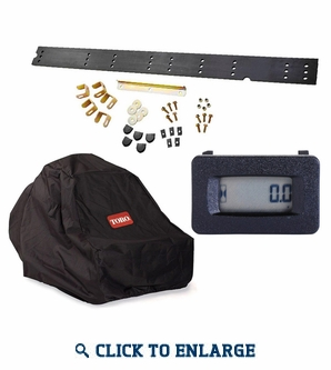 Toro TimeCutter SS/SW Accessory Kit - Hour Meter/Striping Kit/Cover