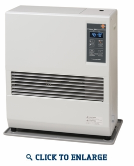 Toyostove by Toyotomi Laser 560 Direct Vent Heating System