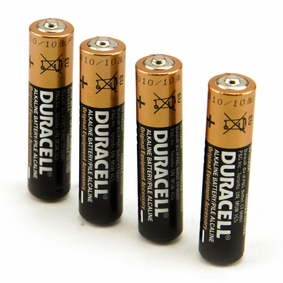 4 AAA Duracell Batteries