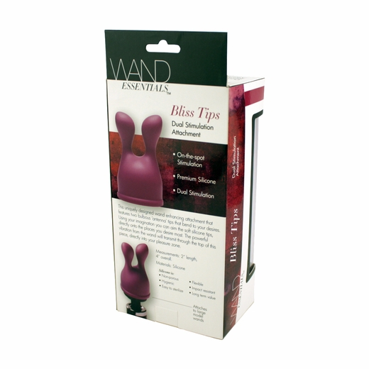 Dual Stimulation Attachment - For Your Wand Vibrator