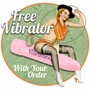Free Vibrator With Your Order