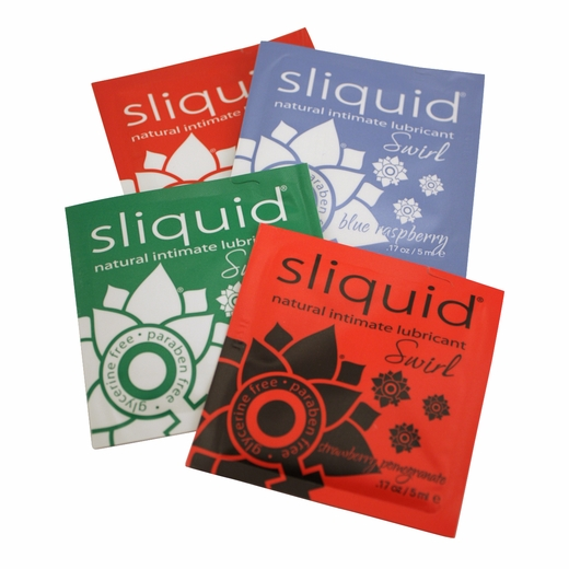 Sliquid Edible Lube Sampler
