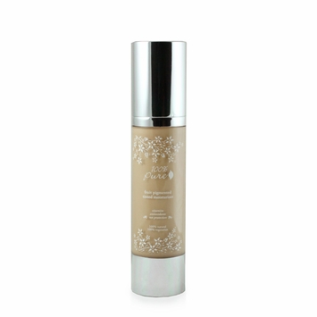 100% Pure Cosmetics Tinted Moisturizer in Light (White Peach)