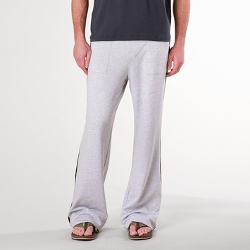 4-rth Eco Track Pant in Heather Gray w/ Black