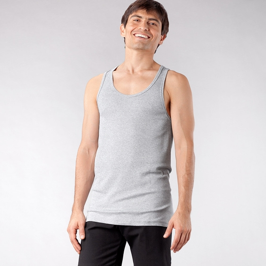 4-rth Sustain Tank ( Heather Gray )