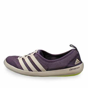 Adidas Climacool Boat Sleek Shoe in Purple/White