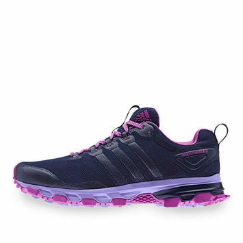 Adidas Response Trail 21 W Shoe in Night Sky/Flash Pink/Purple