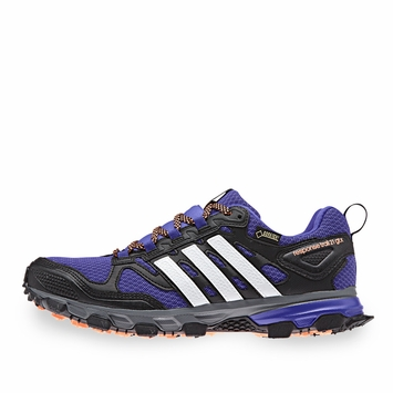 Adidas Response Trail W 21 GTX Shoe in Night Flash/White/Flash Orange