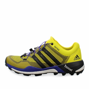 Adidas Terrex Boost Shoe in Bright Yellow/Black