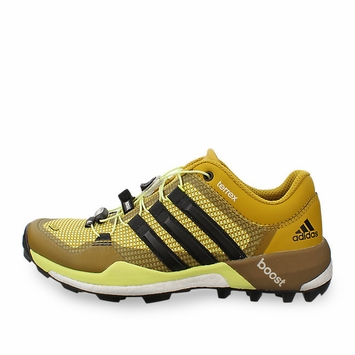 Adidas Terrex Boost W Shoe in Black/Yellow