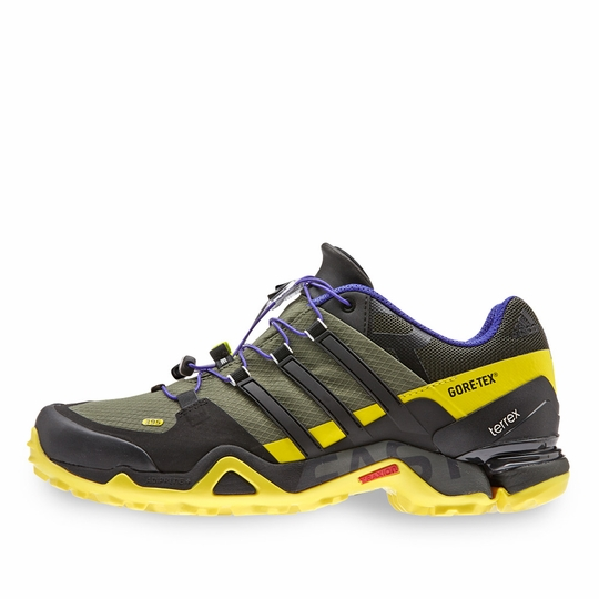 Adidas Terrex Fast R GTX Shoe ( Base Green/Black )