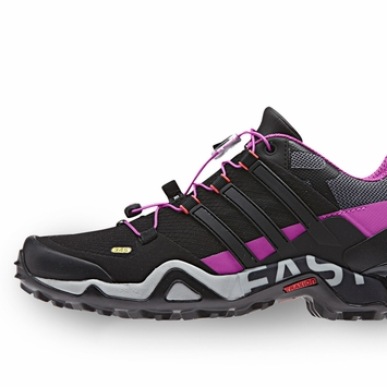 Adidas Terrex Fast R W Shoe in Black/Grey/Pink