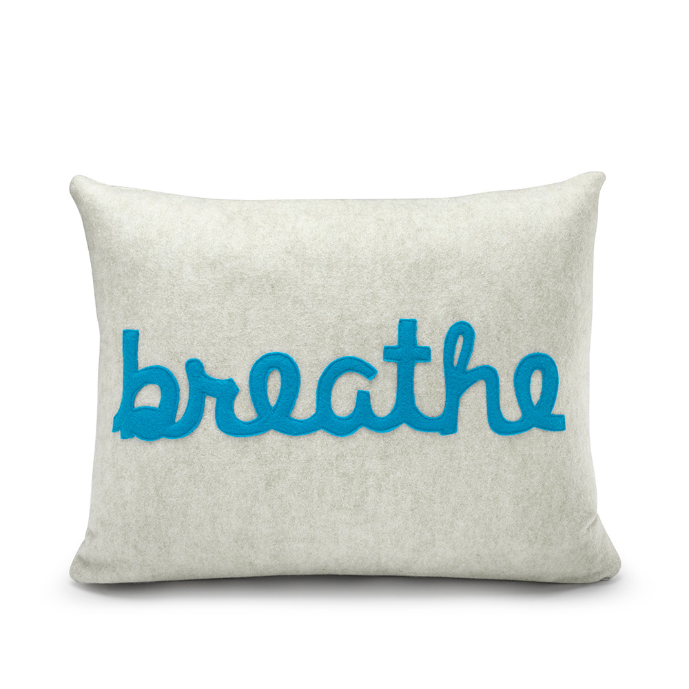 Alexandra Ferguson BREATHE Pillow - Creative gifts for all occasions