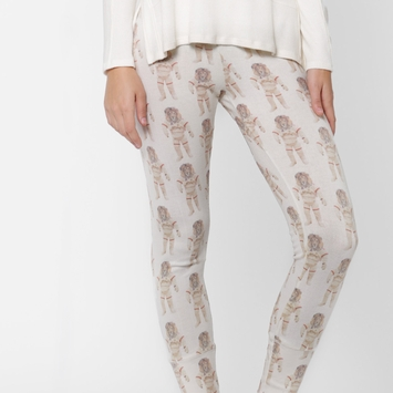 All Things Fabulous Skinny Sweats in Astroleo/Stone