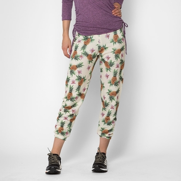 SALE / All Things Fabulous Cozy Sweats in Pineapple Garden Print