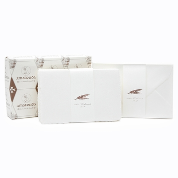 Amalfi Folded Note Cards with Envelopes (50 ct.) (4.5 x 6.75)