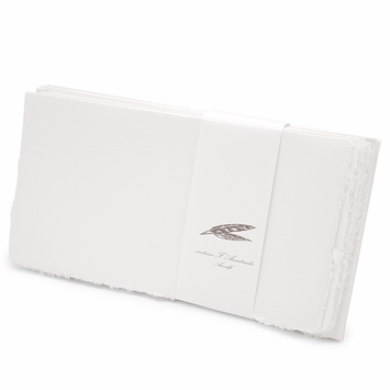 Amalfi Long Flat Note Cards with Envelopes (8 ct.) (4.25 x 8)