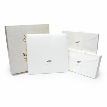 Amalfi Long Folded Note Cards with Envelopes (100 ct.) (4.25 x 8.25)