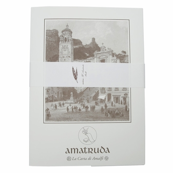 Amalfi Writing Stationery Set (20 ct) (8.5 x 12) in Amalfi Crest Watermark