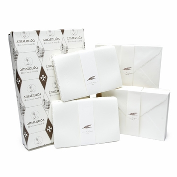 Amalfi Folded Wedding Cards with Envelopes (100 ct) (5.75 x 8.5)