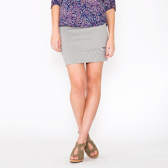 Amour Vert Roxy Skirt ( Heather Gray )