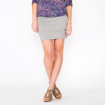 Organic Amour Vert Roxy Skirt in Heather Gray