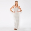 Amour Vert Rainbow Stripe Dress
