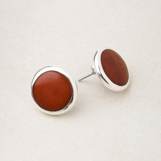 Andean Collection Sofia Earrings ( Burgundy )